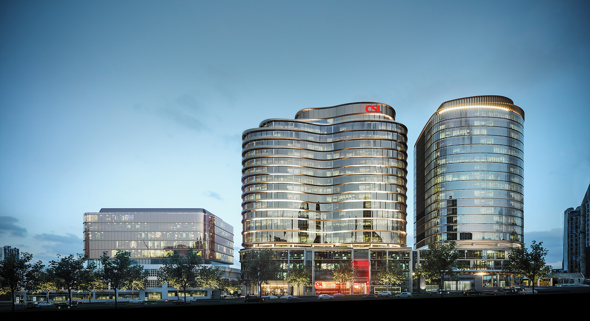 CSL headquaters build by PDG